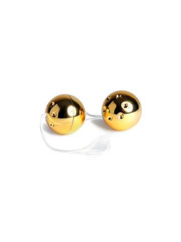 gold ben wa balls