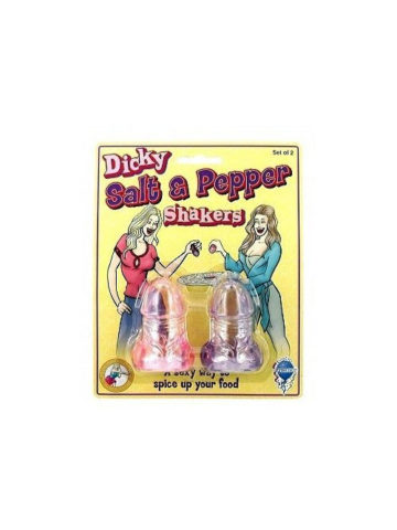 salt and pepper penis shakers novelty